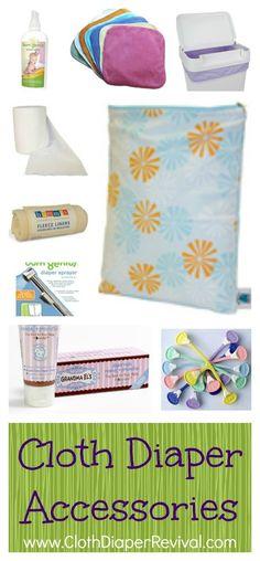 Cloth Diaper Accessories - Stoffwindel Accessoires und Zubehör