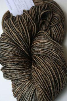 Madelinetosh vintage yarn in Hickory