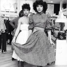 Phylicia Rashad and Debbie Allen. Sisters.