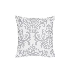 Sweet Jojo Designs Grey/ White Elizabeth Decorative Accent Throw Pillow | Overstock.com Shopping - The Best Deals on Throw Pillows