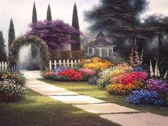 Fleurs et jardins en peinture - Page 2