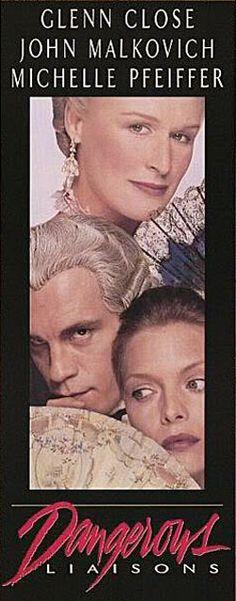Dangerous Liaisons(1988)邦題・・危険な関係