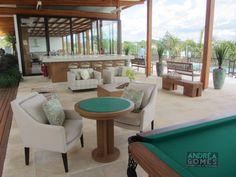 Lounge e salão de jogos integrado!