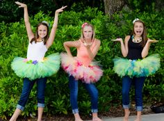 Teen and Adult Tutus for Luau themed parties  by princesstutus2010, $50.00