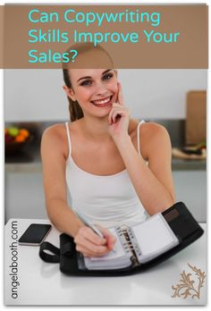 3 Ways Copywriting Skills Can Help Your Sales - Copywriting skills are essential for small business people. You need to communicate more: grab the sales you're missing: http://angelabooth.com/wp/2014/03/20/3-ways-copywriting-skills-can-help-sales/