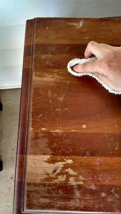 Restore Wood Furniture, Furniture Fix, Refurbished Furniture, Repurposed Furniture, Wooden Furniture, Furniture Projects, Furniture Makeover, Furniture Refinishing, Refinishing Kitchen Tables
