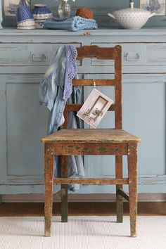 Vintage Stühle - Original Vintage Stuhl - ein Designerstück von bleuetrose bei DaWanda