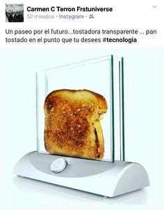 Tostadora transparente #tecnologia