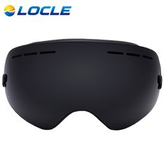 LOCLE Ski Goggles Double Lens Anti-fog UV 400 Ski Glasses Men Women Skiing Snowboard Skateboard Snow Motocross Goggles #clothing,#shoes,#jewelry,#women,#men,#hats,#watches,#belts,#fashion,#style