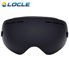 LOCLE Ski Goggles Double Lens Anti-fog UV 400 Ski Glasses Men Women Skiing Snowboard Skateboard Snow Motocross Goggles #clothing,#shoes,#jewelry,#women,#men,#hats,#watches,#belts,#fashion,#style
