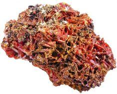 129.3 CTS CROCOITE SPECIMEN TASMAINA [MGW800A15]  crocoite mineral specimen , australian mineral , australian specimen