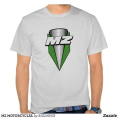 MZ Motorcycles Mens Polo Shirt