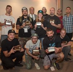 Artists receive Keys to the City in Worcester, Massachusetts, 8/16 (LP)