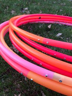 Swimming MULTICOLOUR SWIMMING RING HOOP HULA HOOP MAKE YOURSELF DIY RAINBOW HOOP
