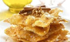Amateur Cook Professional Eater - Greek recipes cooked again and again: Diples - Greek traditional Christmas deep fried sweets Greek Sweets, Greek Desserts, Greek Recipes, Traditional Christmas Food, Greece Food, Greek Dishes, Mediterranean Recipes, International Recipes, Dessert Recipes