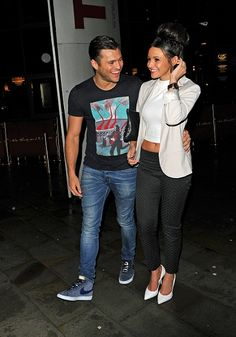 Michelle Keegan Enjoys Night Out With Beau Mark Wright