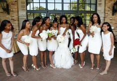 Gold, Ivory and Red Wedding by Keith Cephus Photography: Jamila and Gary - Munaluchi Bridal Magazine