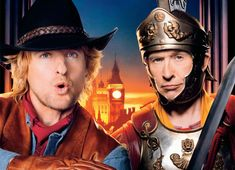 """Owen Wilson as Jedediah and Steve Coogan as OctaviusItem in """"Night at the Museum 3"""" (2014)"""