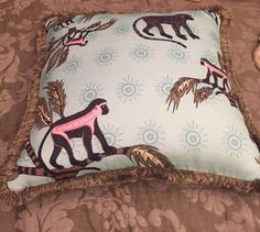 Ardmore Monkey Palm Scatter Cushion
