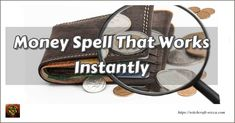 Money Spell That Works Instantly, Cast Spell to Attract Money [Fast Result] Cast a to Attract How to cast a Money Spell That Works? Casting a wealth spell you will find that you have conditioned to wealth Powerful Money Spells, Money Spells That Work, Candle Spells, Candle Magic, Good Luck Spells, Personal Development Coach, Purple Candles, Money Magic, Witchcraft Books
