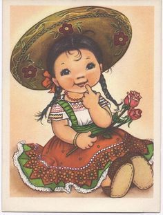 Vintage Card, via Etsy.