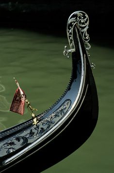 Venice... A gondola ride with my love maybe one of these days.  The gondolas do have a unique design