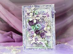 Scrap-Imaginarium, Card with flowers