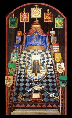 """DIVINITY IN FREEMASONRY While theologies are going to pieces, and men imagine they can get along without God and are willing to be called """"atheists"""", here lies the strongest bulwark for the. Masonic Art, Masonic Lodge, Masonic Symbols, Illuminati Symbols, Tribe Of Judah, Royal Arch Masons, Templer, Royal Art, Freemasonry"""