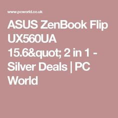 """Cool Asus ZenBook 2017: Cool Asus ZenBook 2017: ASUS  ZenBook Flip UX560UA 15.6"""" 2 in 1 - Silver De...  Techno 2017 Check more at http://mytechnoworld.info/2017/?product=asus-zenbook-2017-cool-asus-zenbook-2017-asus-zenbook-flip-ux560ua-15-6-2-in-1-silver-de-techno-2017"""