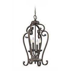 Kichler Pendant Light in Olde Bronze Finish | 43165OZ | Destination Lighting