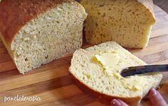 Estou postando novamente essa receita que foi enviada há tempos pela leitora Fabíola que leu no blog que eu tinha preguiça de fazer pão caseiro e resolveu me ajudar. Como rendia muito pouco eu aume…