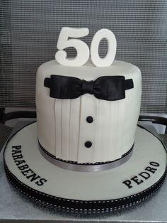 Bolo 50 anos para homens