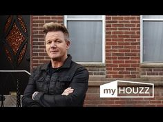 Kitchen cabinet color - My Houzz: Gordon Ramsay's Surprise Renovation Office Decorating Themes, Decorating Tips, Interior Decorating, Interior Ideas, Decor Ideas, Interior Design Help, Chef Gordon Ramsay, Office Artwork, People