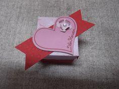 Sconebeker Stempelscheune: Mini-Explosionsbox für ein Ferrero Küßchen mit Anleitung