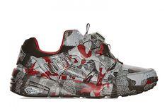 Trapstar x Puma Disc Blaze Camouflage Sneaker