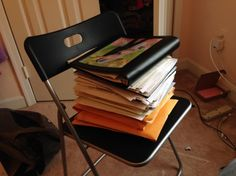 Going Paperless 4 Tips for Getting Started in 2016 Paperless Post, Home Management Binder, Evernote, Folding Chair, Get Started, Tips, Nerdy, Organize, Technology