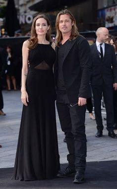 A Post-Mastectomy Angelina Jolie Stuns in Custom Saint Laurent