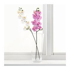 """SMYCKA  Artificial flower, Orchid, white  $3.99  Article Number: 803.335.85  23.5"""""""