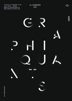 maximetetard:  les Graphiquants — Type 2009