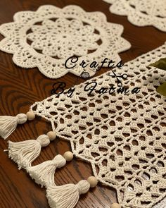 Crochet Lampshade, Crochet Bedspread, Crochet Doilies, Crochet Lace, Crochet Flower Patterns, Crochet Flowers, Knitting Patterns, Filet Crochet, Crochet Stitches
