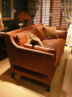 The Morgan sofa, new addition to the Julie Browning Bova Home Collection for Stanford Furniture