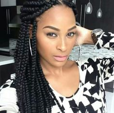 30 Best Black Braided Hairstyles That Turn Heads