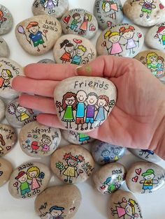 Inspirational gifts, Affirmation Stones, wedding favors, pai … – About Wedding Dresses Rock Painting Ideas Easy, Rock Painting Designs, Paint Designs, Pebble Painting, Pebble Art, Stone Painting, Stone Crafts, Rock Crafts, Art Pierre