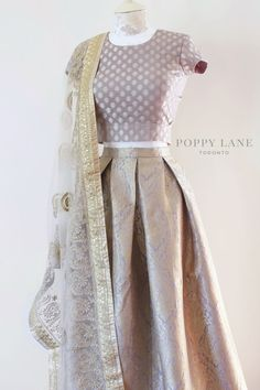 Unique Blouses, Sarees and Lenghas that embody the vibrancy of South Asian fashion with a modest up to date western flair. Indian Suits, Indian Attire, Indian Dresses, Indian Wear, Indian Style, Punjabi Suits, Indian Wedding Outfits, Pakistani Outfits, Indian Outfits Modern