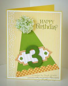 Quick & Easy Party Hat Birthday Card