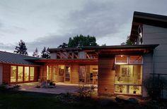 Edmonds Residence | Modern Green Seattle Architects - David Foster Architects