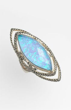 Judith Jack 'Lagoon' Gilson Opal Ring available at #Nordstrom