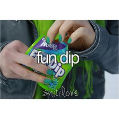 Question of the day: why is It 2014 and Fun Dip still isn't re-sealable. Come on Wonka, get your shit together