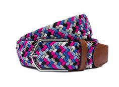 The Belgrave, Well helloooo you! This manly men's woven belt leaves one confused but also excited. Even with a single glance, your eyes will be transfixed with the sheer brilliance of it all.  Only a real man can get away with wearing a belt with such a gorgeous collection of colours. Mens Woven Belts, Real Man, Confused, Leaves, Colours, How To Wear, Accessories, Collection, Jewelry Accessories