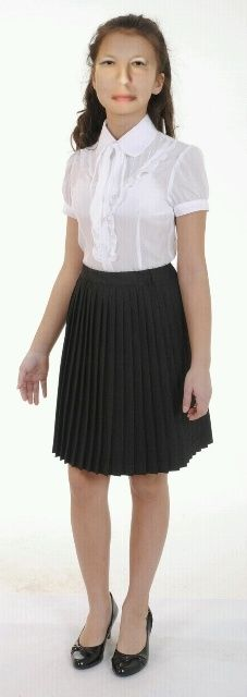 School Uniform, Young Women, Teen Fashion, Collars, High Waisted Skirt, Tulle, Sissy Boys, Lady, Skirts